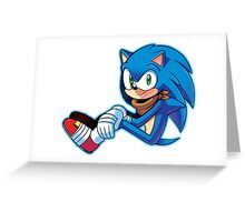 Sonic The Hedgehog/Sonic Boom  Greeting Card