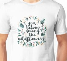 Among the Wildflowers Unisex T-Shirt