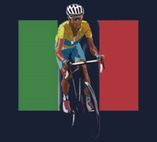 Maillot Jaune, Italy Flag 2 Kids Clothes