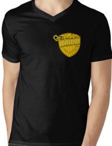 DREDD Mens V-Neck T-Shirt