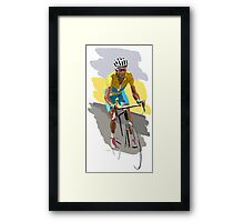 Maillot Jaune Framed Print