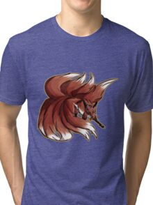 Nine Tailed Fox  Tri-blend T-Shirt