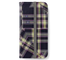Modern Abstract Geometric  iPhone Wallet/Case/Skin