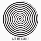 """Get me coffee"" hypno wheel by Barista"
