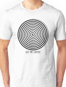 """""""Get me coffee"""" hypno wheel T-Shirt"""