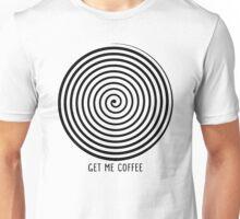 """""""Get me coffee"""" hypno wheel Unisex T-Shirt"""