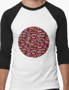Way Too Chatty Men's Baseball ¾ T-Shirt