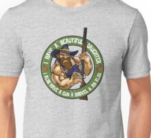 Hillbilly - I Have A Beautiful Daughter - Green Variant Unisex T-Shirt