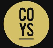 COYS circle print icon away by MJ96