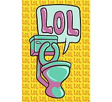 Toilet Humour Photographic Print