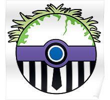 Beetlejuice Pokemon Ball Mash-up Poster
