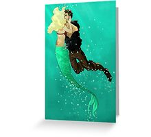 The Siren & the Pirate Greeting Card