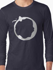 Coffee Stain Long Sleeve T-Shirt