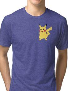 Pikachu - Pokemon Go Tri-blend T-Shirt