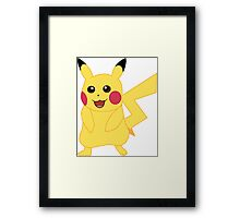 Pikachu - Pokemon Go Framed Print