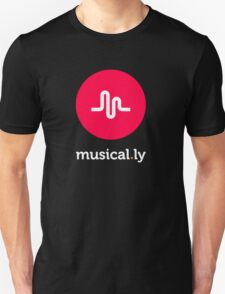 music logo tshirt, musical.ly Unisex T-Shirt