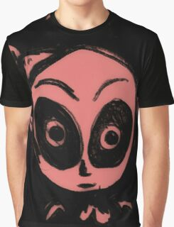 Ghost in pink Graphic T-Shirt