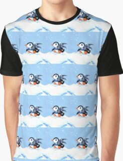 Snowy Day Graphic T-Shirt