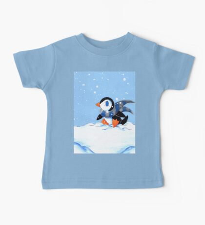 Snowy Day Baby Tee