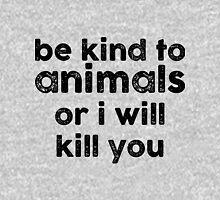 Be Kind o Animals Unisex T-Shirt
