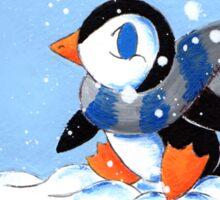 Snowy Day Sticker