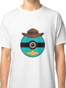 Perry the Platypus Pokemon Ball Mash-up Classic T-Shirt