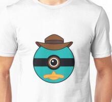 Perry the Platypus Pokemon Ball Mash-up Unisex T-Shirt