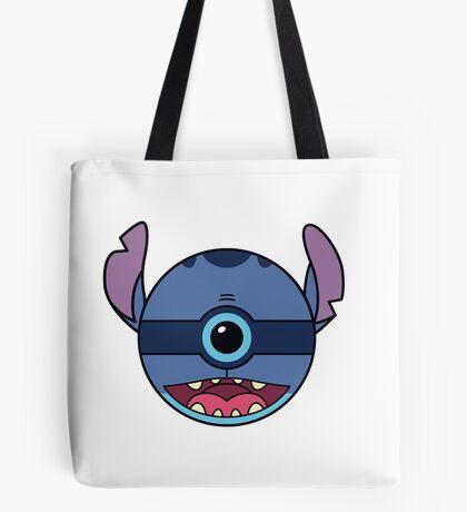 Stitch Pokemon Ball Mash-up Tote Bag