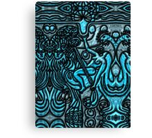 Tarot 11 The  Force Canvas Print