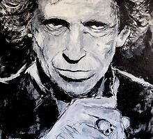 Keith Richards by grittyarts