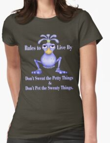 Sweaty Things Womens Fitted T-Shirt