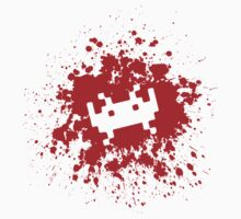 Space Invaders blood splat by prodigy69