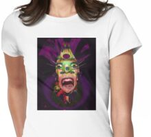 Four Eyes Freak Womens Fitted T-Shirt