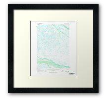 USGS TOPO Map Alaska AK Bethel D-5 354467 1954 63360 Framed Print