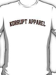 We Are Korrupt Apparel Black T-Shirt