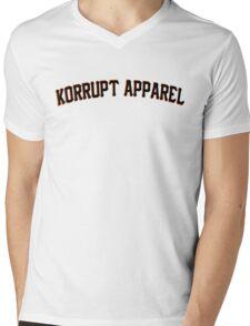 We Are Korrupt Apparel Black Mens V-Neck T-Shirt