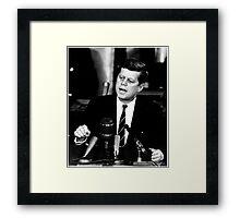 John F Kennedy USA President  Framed Print