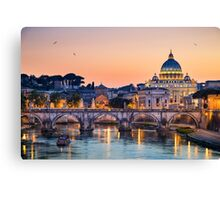 Basilica St Peter in Rome, Italy Canvas Print