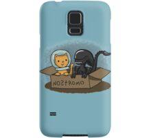 Kitten and Alien Samsung Galaxy Case/Skin