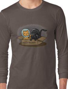 Kitten and Alien Long Sleeve T-Shirt