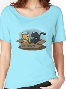 Kitten and Alien Women's Relaxed Fit T-Shirt