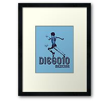 DIEGO10 - MEXICO 1986 WORLD CUP SOCCER Framed Print