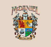 McDaniel family crest / heraldic shield / coat of arms Unisex T-Shirt