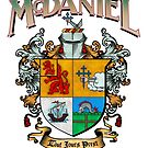 McDaniel family crest / heraldic shield / coat of arms by Adam McDaniel