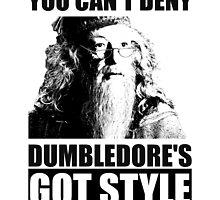 Dumbledore's got style by Fenja Van Em