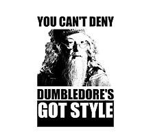 Dumbledore's got style Photographic Print