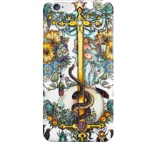 The Illustrated Alphabet Capital I (Fuller Bodied) from THE ILLUSTRATED MAN iPhone Case/Skin
