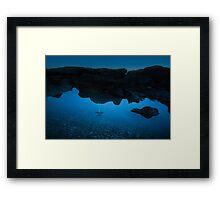 Beach Nights II Framed Print