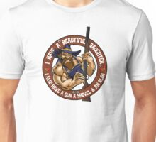 Hillbilly - I Have A Beautiful Daughter Brown Variant Unisex T-Shirt