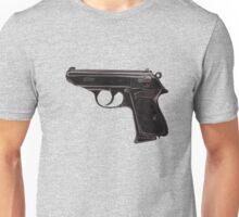 Gun - Pistol - Walther PPK Unisex T-Shirt